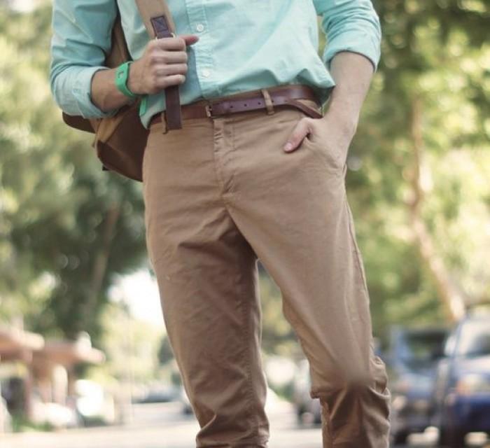 Преппи брюки