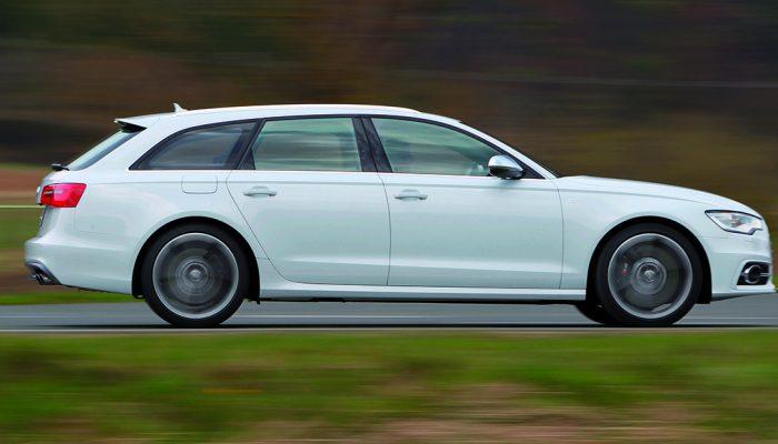Audi S6 Avant /Fahraufnahme