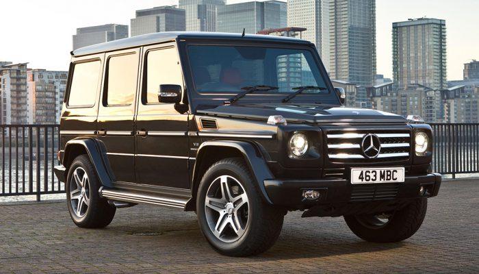 Mercedes-G-Wagen