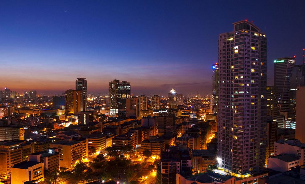 города Филиппины