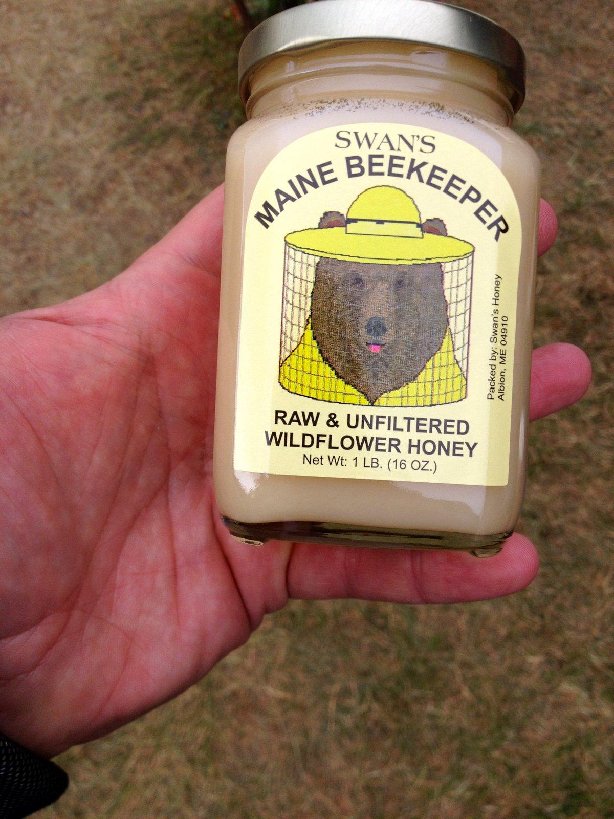 мед на ярмарке