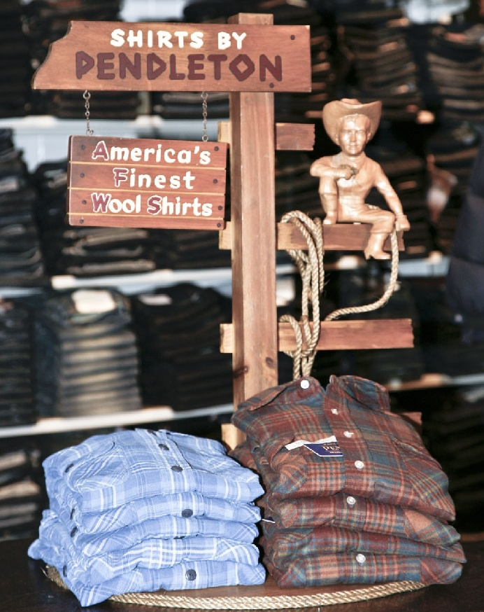 рубашка Пендлтон