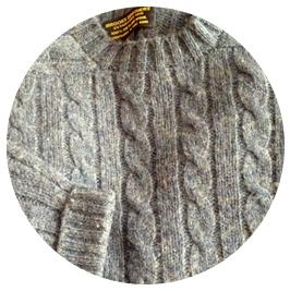 шетландский свитер