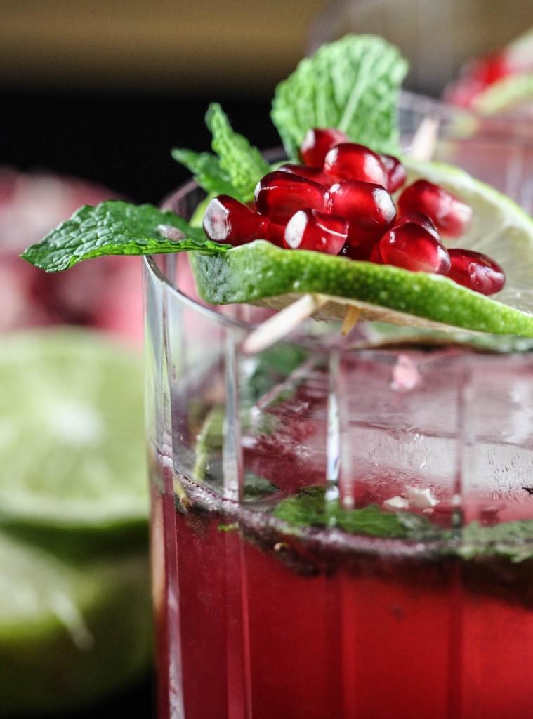 коктейль на рождество