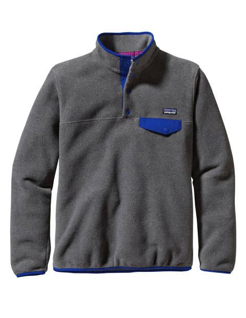 Флисовый пуловер на замке PATAGONIA