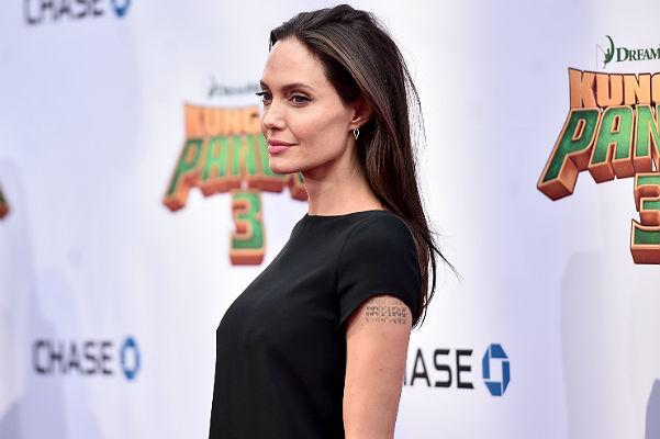 Анджелина Джоли и другие звезды на премьере'Кунг-фу Панды 3