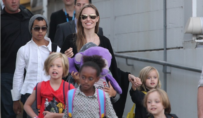 Дети Брэда Питта и Анджелины Джоли озвучили мультфильм'Кунг Фу Панда 3
